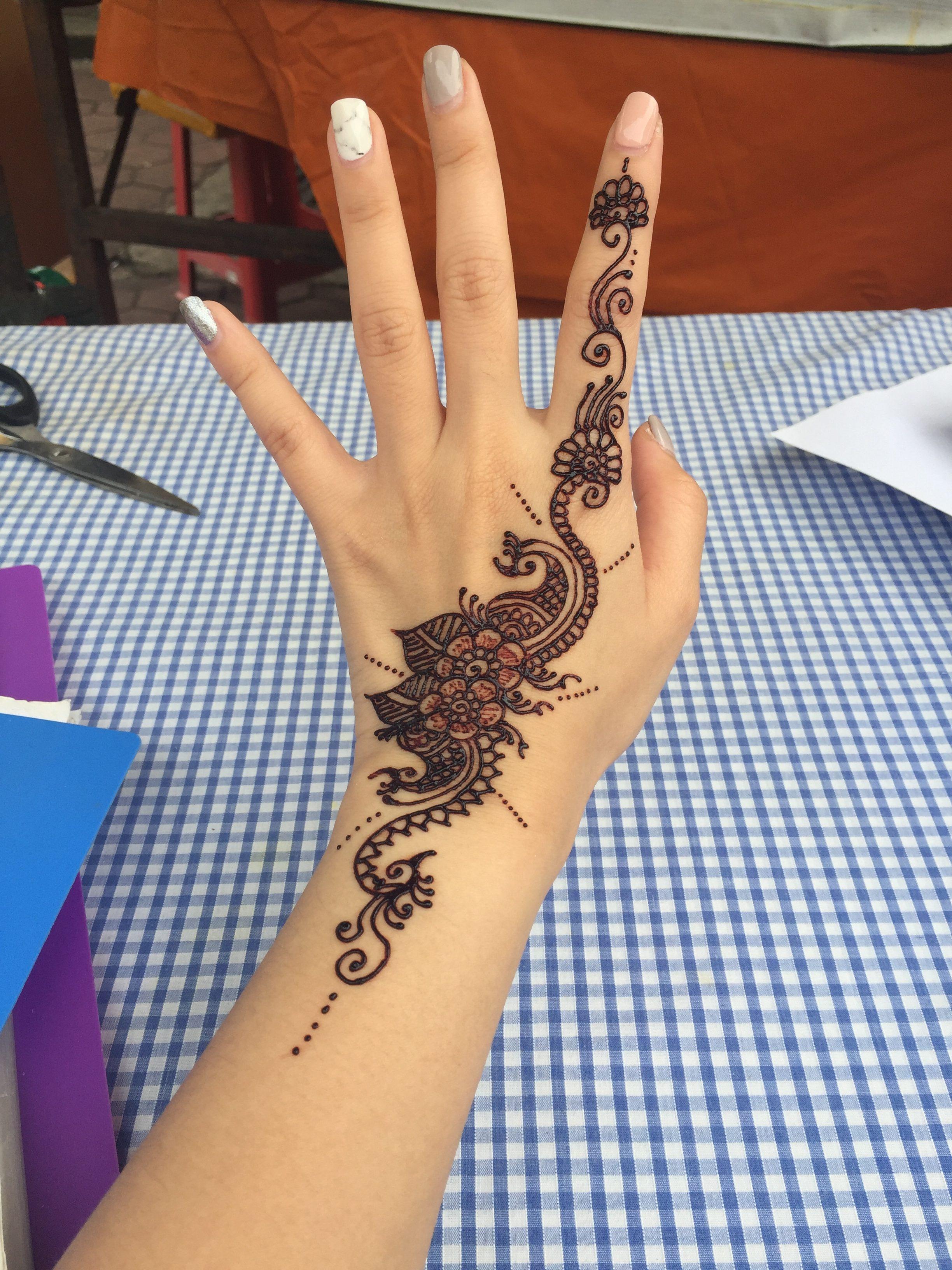 Henna at batu caves kuala lumpur kl malaysia