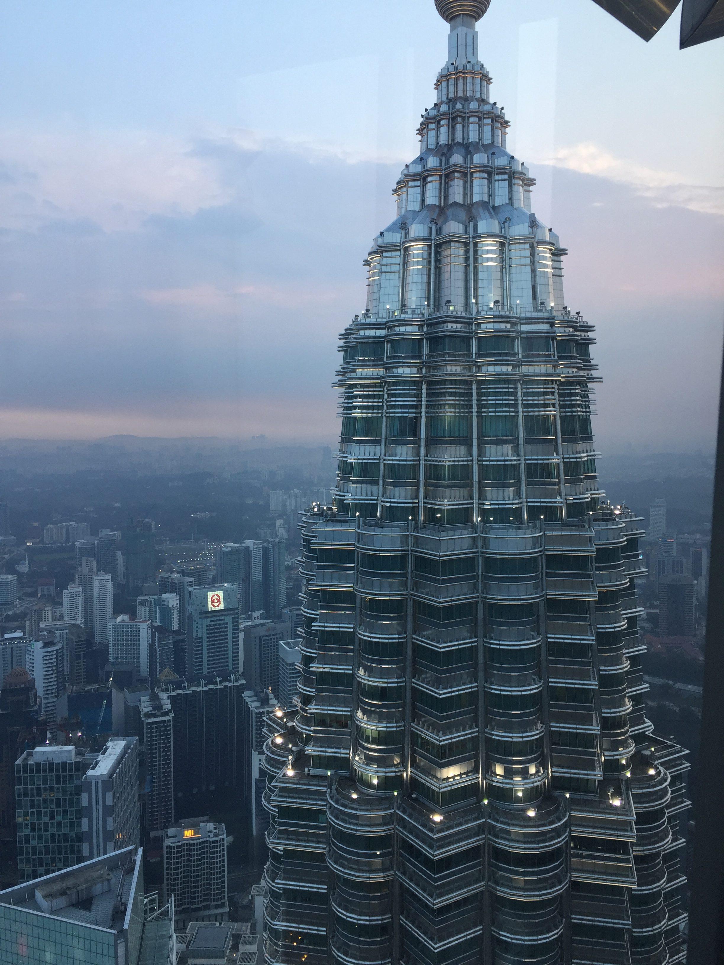 petronas twin tower in Kuala Lumpur, KL, Malaysia