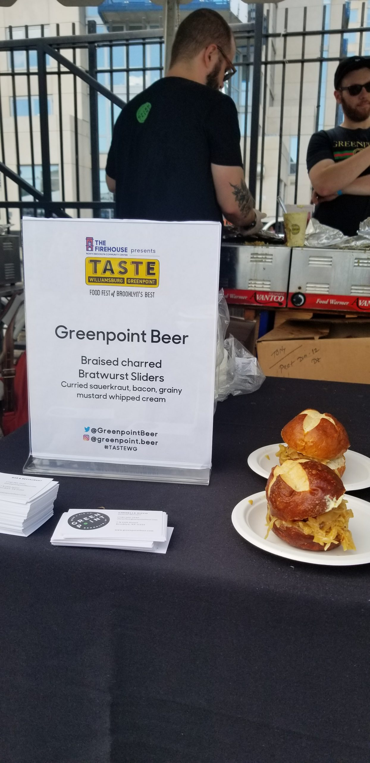 greenpoint beer taste wg nyc