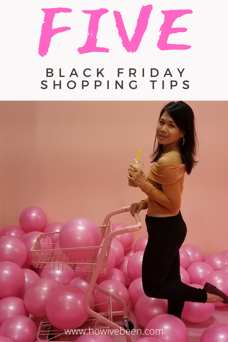 five black friday shopping tips