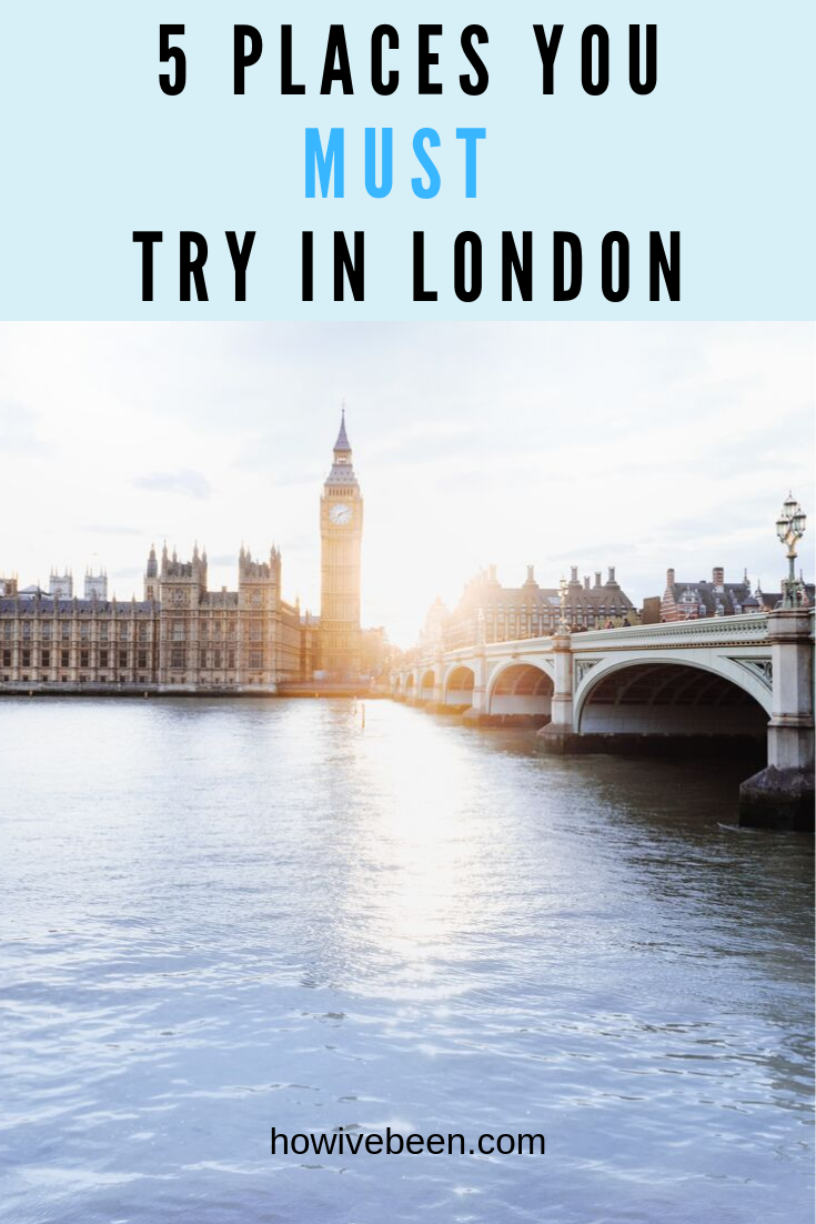 where to eat in london pinterest