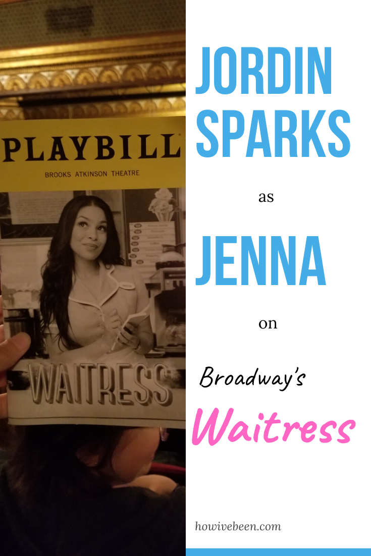 waitress, broadway musical jordin sparks