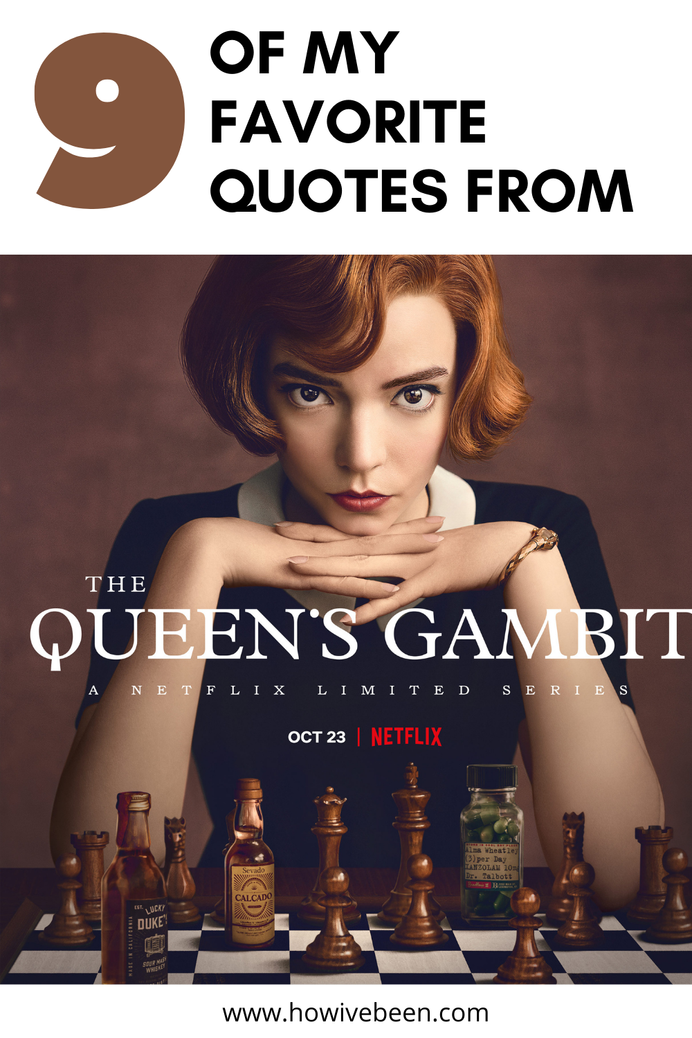 quotes from the queen's gambit