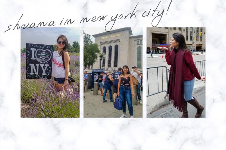 shuana in new york city emily in paris